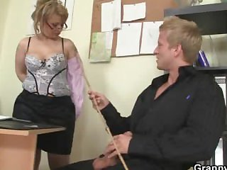 Mature office boss him fuck will not hear of hard