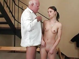 Teen with Daddy