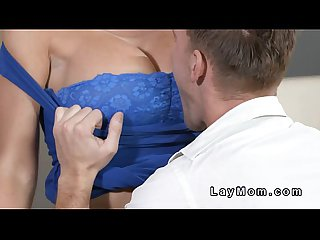Young supplicant fucks busty murky Milf  HD