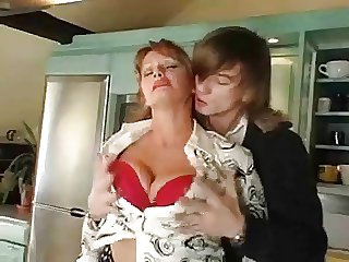 Mature woman and lad - 23