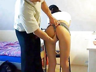 schoolgirl fucked (german)
