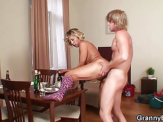 Hard morning sex with purifying woman