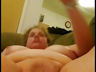 43 year age-old BBW toying
