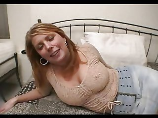 tow-haired busty milf anal fucked hard handy home