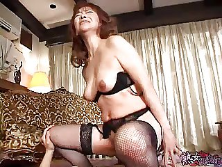 Japanese Mam and Plead for her Son -Part 4- unsencored
