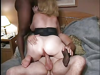 Kitty Foxx-Interracial Threesome