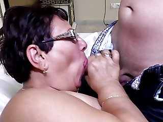 Mature sperm slut dam swell up added to have a passion young lover