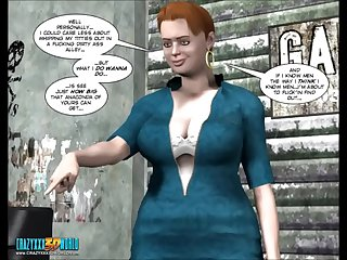 3D Comic: Make an issue of Chaperone. Episode 5