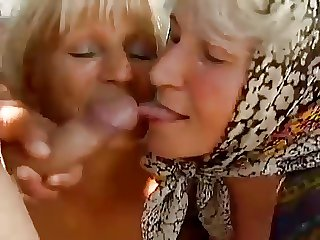 2 Farm Grannies seduced wits young man