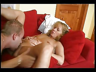 Seductive Hot Mam Nigh Young Guy