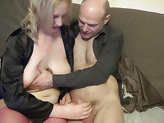 Girl who can't stop masturbating takes on coupled with oldie