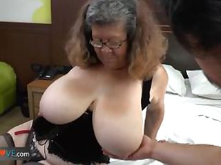 Agedlove granny with big confidential banged