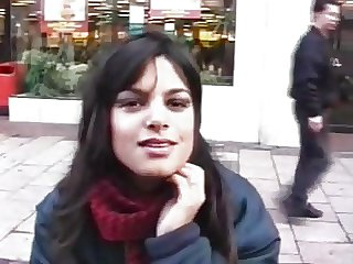 Indian girl foreigner off the street