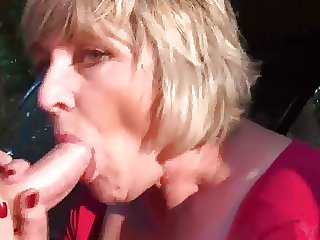 Mom Monieka Masturbation and Blowjob