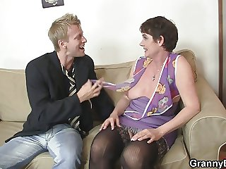 Very old granny