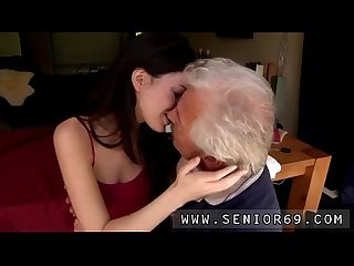 Age-old old granny lesbian Horny senior Bruce catches sight of a