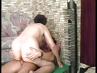 BBW FAT GRANNY FUCKED BY A YOUNG Rafter PART 3