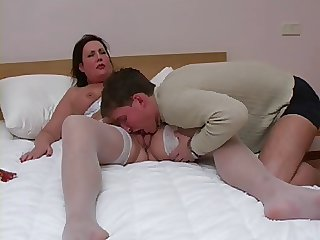 Mature Tolerant In Nylons Getting Fucked