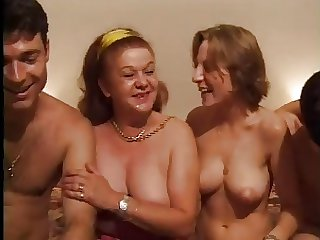 FRENCH CASTING 26 anal mature and young spoil with 2 hard up persons