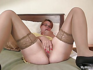 He finds say no to masturbating and offers his cock