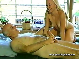 19 Years Venerable And She Loves Mature Cock
