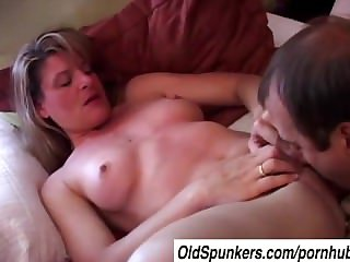 Lovely mature infant Linda enjoys an afternoon delight
