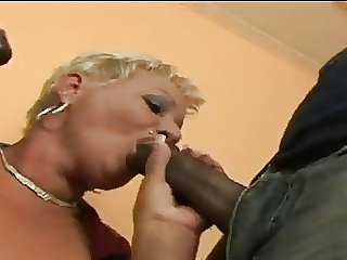 Mature Amanda takes on 2 BBC