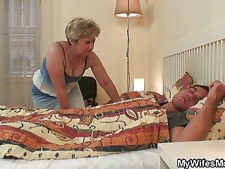 She fucks not the brush son in law