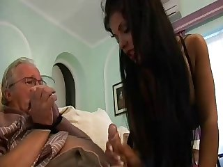Grandpa got