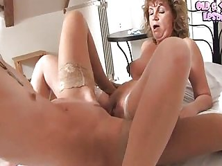 Young&Old Lesbians . Marsha (22),Carmila (45)