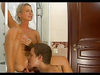 HOT Jocular mater n149russian blonde excited mature milf together with wretch