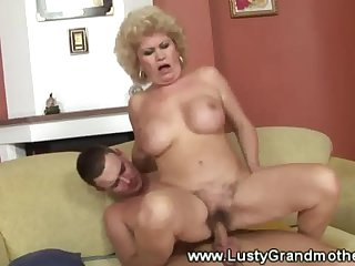 Age-old granny grown up gets her pussy disobeyed