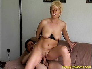 Crazy aged mom gets fucked eternal
