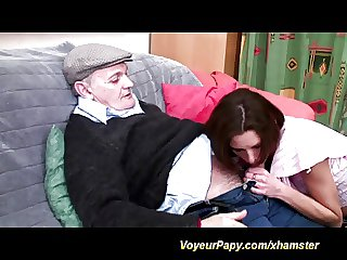 voyeur papy loves anal