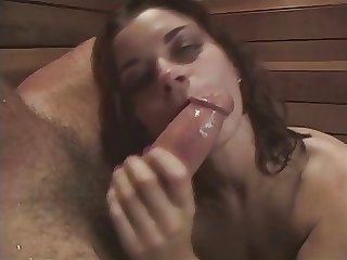 Bobbi Starr - Deep Throat Blowjob plus Cum