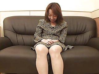 47yr old Victorian Kiyoko Tachibana gets Creamed (Uncensored)