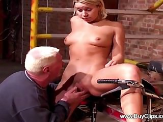 Younger blondes unwilling coitus to elder