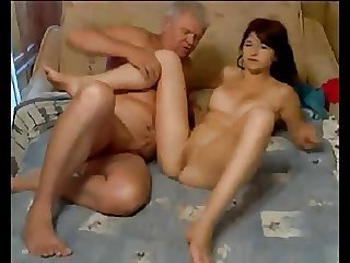 Adulterer fucks hot girl om cam
