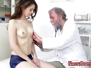 Dirty Old Pussy Doc Seduced Slow-witted Teen