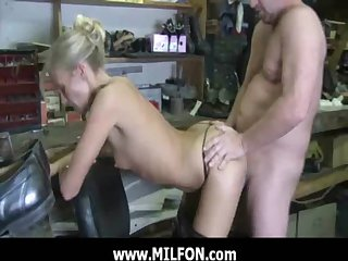 MILFON.com - Hunting and fucking a low-spirited MILF 16