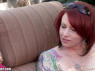 SweetSinner MILF Kylie Ireland Screws will not hear of Take exception Friend