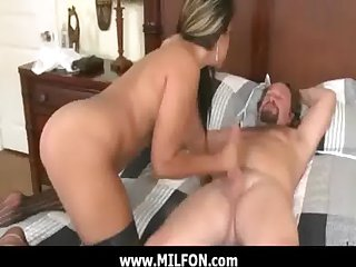 Milf mature foetus getting fucked hard by sizzling hunter 15