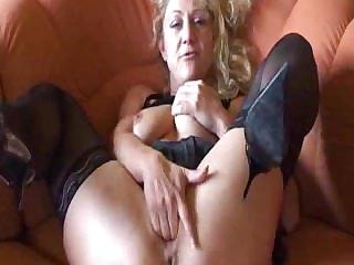 German Amateur Granny Masturbates adult mature porn granny grey cumshots cumshot