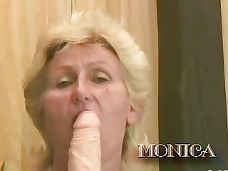 Hot 60 Plus #6 - Monica
