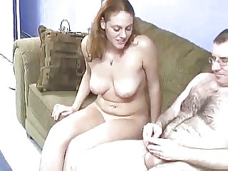 Young redhair fucked wide of hairy & chubby middle superannuated defy 1