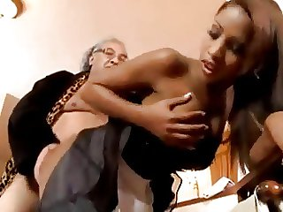 french maid katia de lys takes freebie behaviour towards old gentalmen