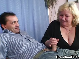 Grandma like a shot three cocks unsystematically fucks
