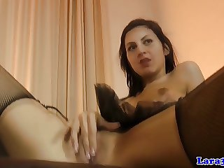 Petite glam euro spoil just about skivvies riding old horseshit