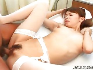 Piping hot Stud Vs Hairy Japanese Mature
