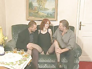 Teen Redhead Enjoys Older Guys Cocks !